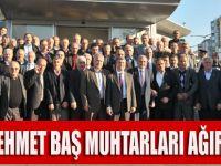 Mehmet Bas Akçaabatlı Muhtarları Ağırladı