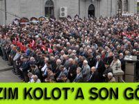 Kazım Kolot'a son görev