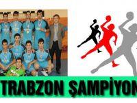 Akçaabat Trabzon şampiyonu oldu