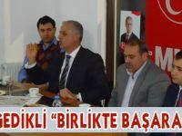 MHP Adayı Metin Gedikli