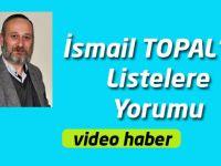 Gazeteci İsmail Topal'ın Siyasi Partilerin Listesini Yorumladı.