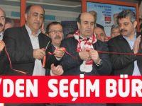 CHP Dürbinar'da Seçim Bürosu Açtı