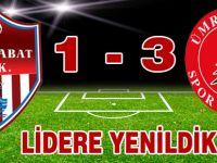 Akçaabat FK Ümraniye'ye karşı