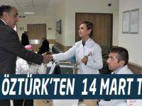 Öztürk Tıp Bayramını Kutladı