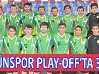 Tütünspor Play-Off'ta 32-29