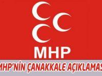 MHP Akçaabat İlçe Başkanı Miraç Çınar'ın Açıklaması.