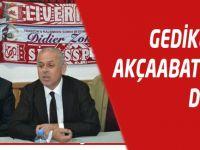 Metin Gedikli'den Akçaabat FK'ya Destek