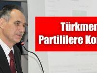 Türkmen'den Teşekkür Konuşması.