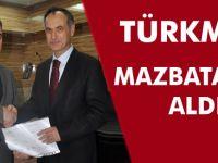 Türkmen Teşekkür Ziyaretinde.
