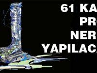 Akçaabat'a 61 Katlı Otel ve Residance