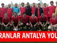 Veteranlar Antalya yolcusu
