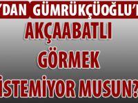 MHP'li Meclis Üyesi Murat Aydın'dan Gümrükçüoğlu'na
