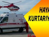 Trabzon'da 112 Hayat Kurtarıyor