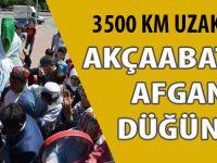 3 bin 500 km uzaklıkta Afgan Düğünü