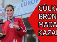 GÜLKADER BRONZ  MADALYA KAZANDI!