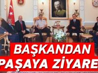 Başkan'dan Paşaya Ziyaret