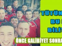 Tütünspor'danGalibiyet Selfisi