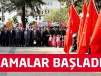 Akçaabat'ta Cumhuriyet Bayramı Kutlamaları Başladı