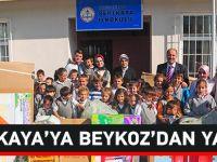 Sertkaya'ya Beykoz'dan Yardım