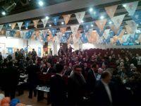 Trabzon  Ak Parti'nin 17. İlçe kongresi olan Akçaabat  İlçe kongresi Kültürpark'da gerçekleştirildi.