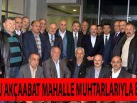 Gümrükçüoğlu, Akçaabat Mahalle Muhtarları İle Bir Araya Geldi.