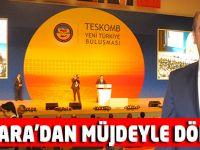 Bulut, Ankara'dan esnafı sevindirici haber ile döndü.