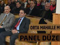 Orta Mahalle Muhtarlığınca Panel Düzenlendi