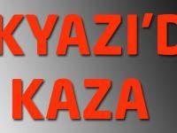 Akyazı'da Kaza