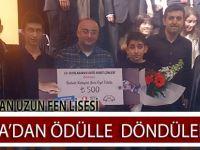 Ankara'dan Ödülle Döndüler