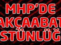 MHP'de Akçaabat Üstünlüğü