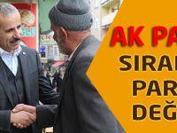 AK Parti sıradan bir parti değildir