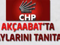 Cumhuriyet Halk Partisi (CHP) adaylarını Akçaabat'ta tanıtıyor.
