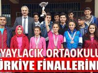 Yaylacık Orta okulu Türkiye Finallerinde