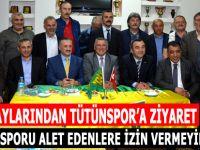 Vekil adaylarından Tütünspor'a Ziyaret