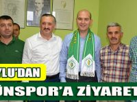 Mv. Soylu'dan Tütünspor'a Ziyaret