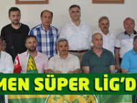 Resmen Süper Lig'deyiz