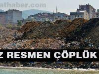 Dolgu Sahası Çöplük Oldu