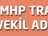 MHP Trabzon Milletvekili Adayları Açıklandı