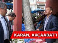 Karan, Akçaabat'ı Dinledi