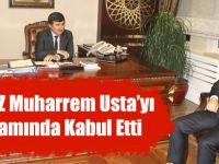Trabzon Valisi Muharrem Usta'yı Makamında Kabul Etti.