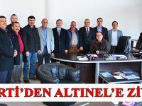 AK Partiden Altınel'e Ziyaret