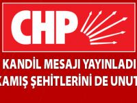 CHP Kandil Mesajı Yayınladı
