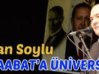 Bakan Soylu'dan Üniversite Açıklaması