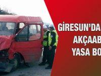 Giresun'daki Kaza Akçaabat'ı Yasa Boğdu