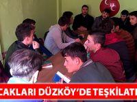 Akçaabat Ülkü Ocakları Düzköy'de teşkilatlanıyor