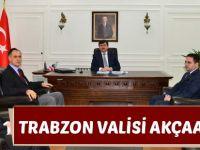 Trabzon Valisi Akçaabat'ta