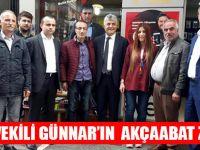 Milletvekili Günnar'ın Akçaabat Ziyareti