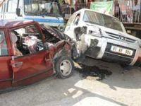 Salacıkta Kaza 4 yaralı