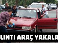 Akçaabat'ta Çalıntı Otomobil Ele Geçirildi.