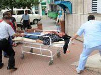 Adacıkta Kaza 2 Yaralı